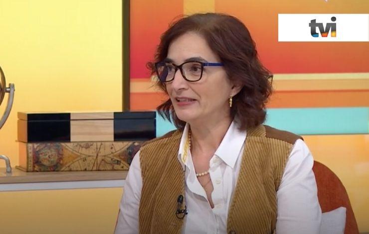 Elvira Fortunato em entrevista para TVI